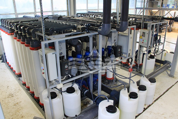 муниципальное водоснабжение гп им. морозова. производительность 150 м3/ч.