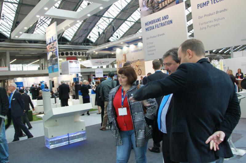 Посещение выставки Aquatech Amsterdam 2013 2